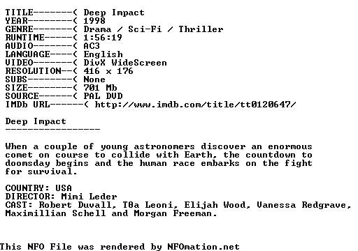 http://nfomation.net/nfo.white/1283591634.Atlas47-Deep-Impact.nfo.png