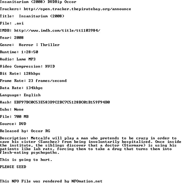 http://nfomation.net/nfo.white/1287965939.occor-insanitarium.nfo.png